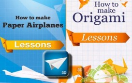 2 to 1: How to Make Origami and Airplanes 3D