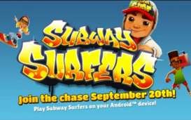 Игра Subway Surfers появилась в Google Play Store (видео)