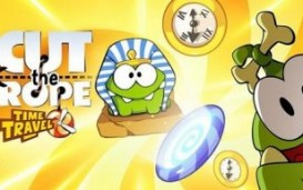 Игра Cut the Rope: Time Travel появилась в Google Play