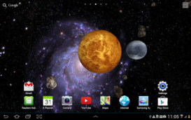 3D Space Live Wallpaper PRO