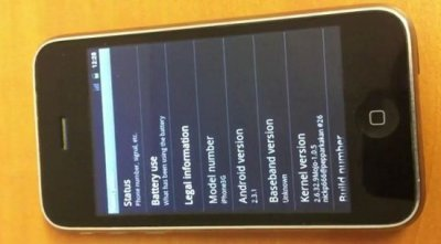 Android 2.3 Gingerbread - теперь и на iPhone 3G