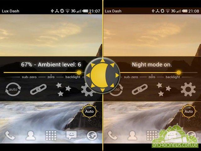 Lux Auto Brightness - программа для настроек яркости вашего телефона