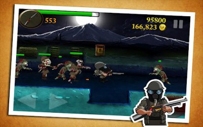 Zombie Trenches Best War Game - ������� �������� � ����