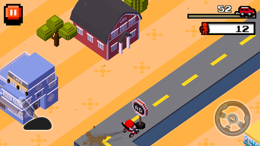 Crush Road(Road Fighter)