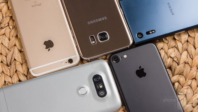 iPhone 7, iPhone 6s, Samsung Galaxy S7 Edge, LG G5 и Sony Xperia XZ: чья камера снимает важнее?